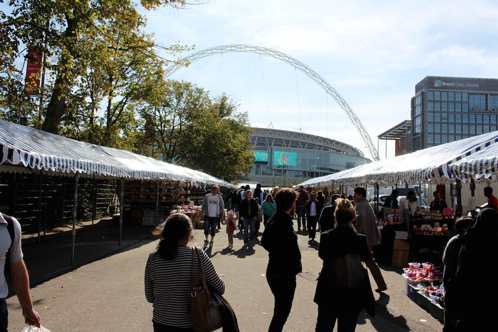 Wembley Park Markets First Day