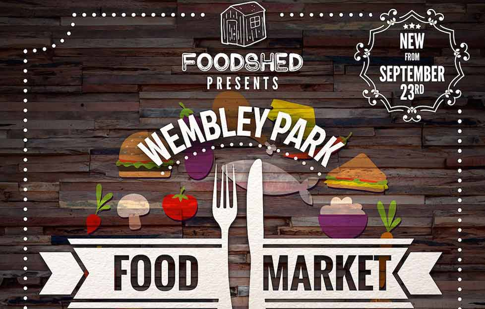 A new food market opens at Wembley Park
