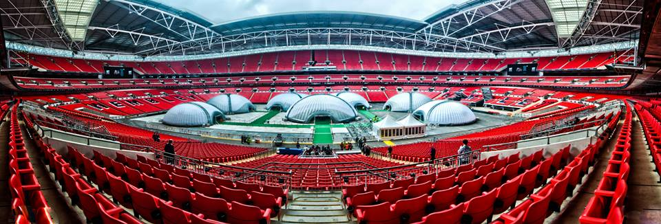 UK's biggest Poker tournament held at Wembley Stadium
