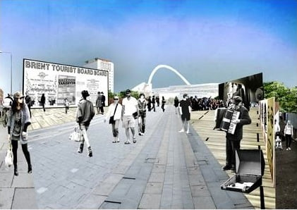 Timber Tower not being built in Wembley