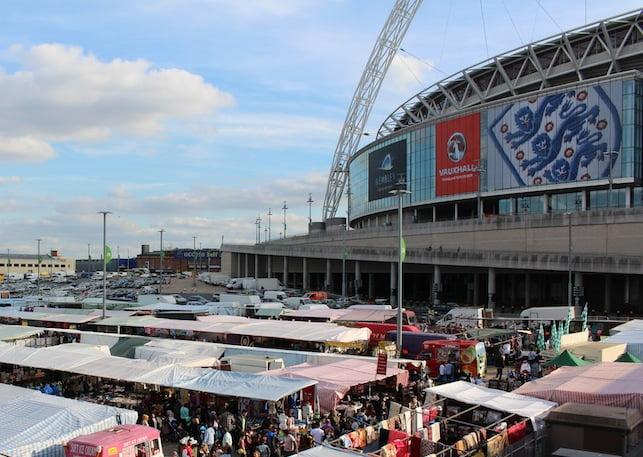 Wembley Market's Last Day