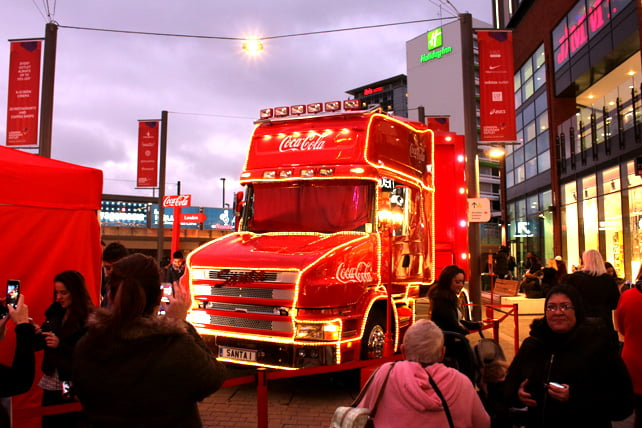 Wembley Coca Cola truck 3