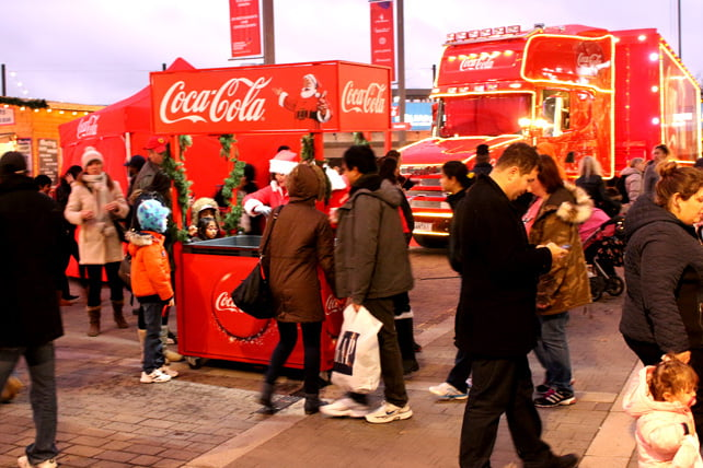 Wembley Coca Cola truck 4