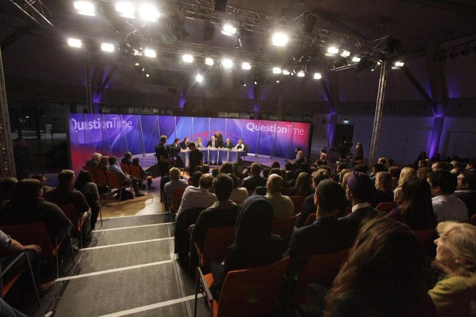 Question Time comes to Wembley