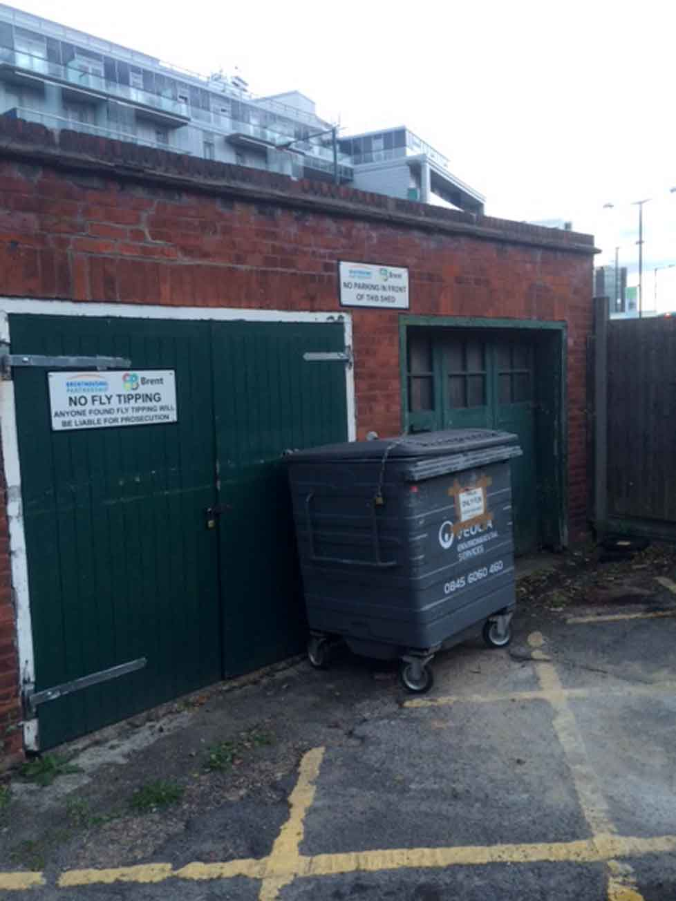 Wembley Park Residents in Asbestos scare