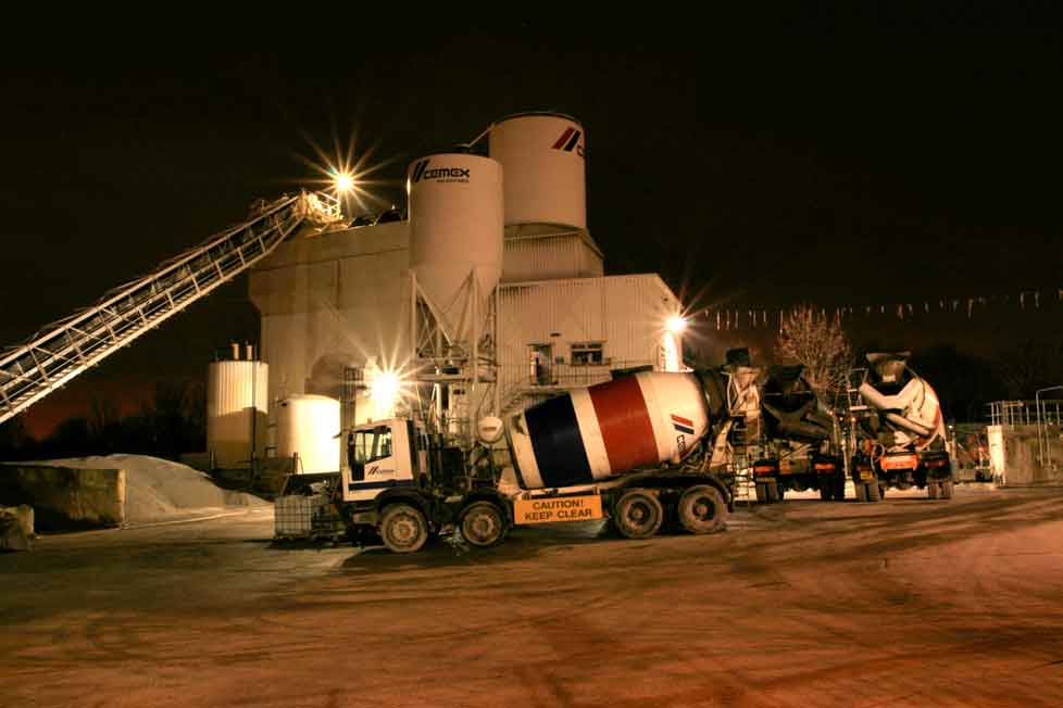 Cemex who have plant in Wembley could build Trump wall