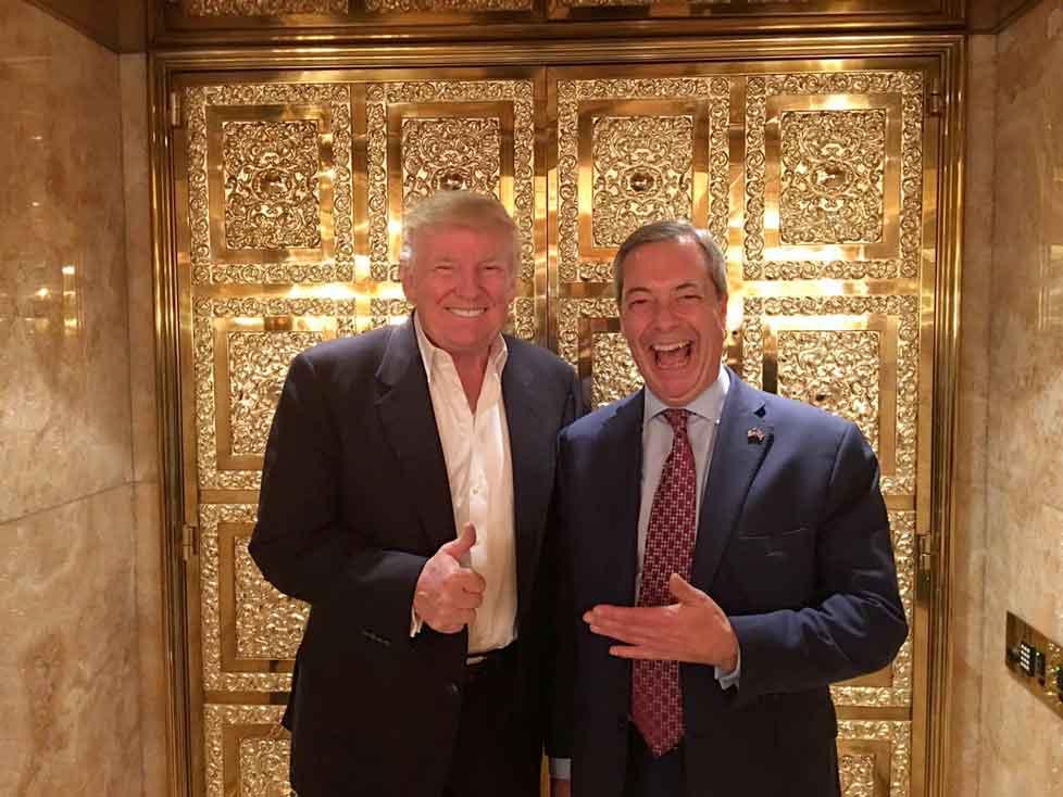 Trump at Wembley