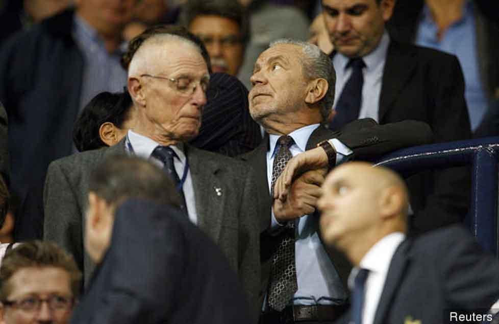 Lord Sugar: We don't like Wembley
