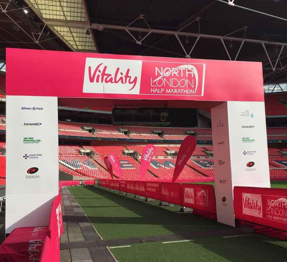 North London Half event on at Wembley
