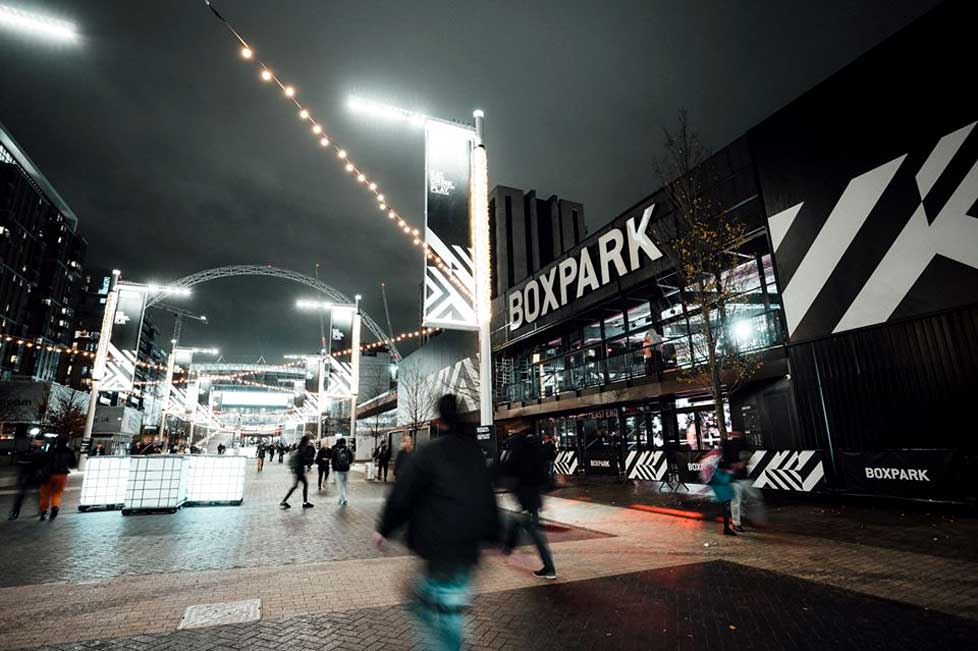 Boxpark brings hipster cool to Wembley
